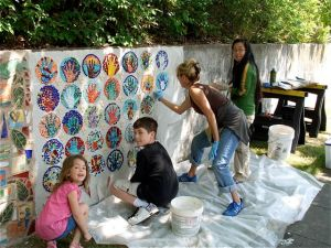 Art Teacher Julie Trout was at the helm of the project